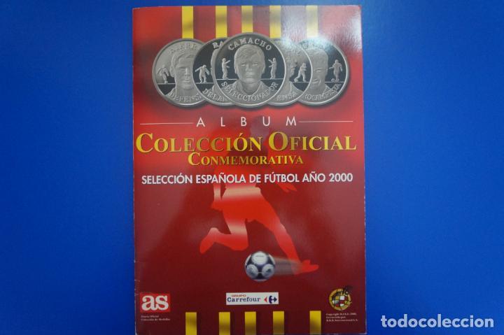 ALBUM COMPLETO DE COLECCION OFICIAL CONMEMORATIVA AÑO 2000 DE AS (Coleccionismo - Cromos y Álbumes - Álbumes Completos)