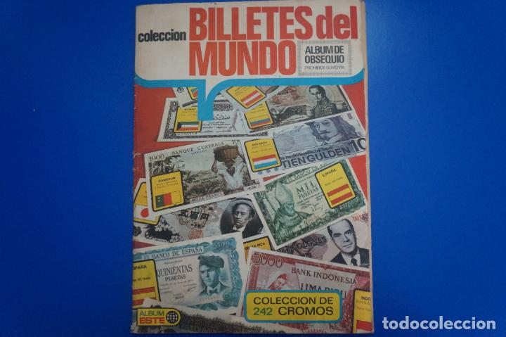 ALBUM COMPLETO DE BILLETES DEL MUNDO AÑO 1974 DE ESTE (Coleccionismo - Cromos y Álbumes - Álbumes Completos)