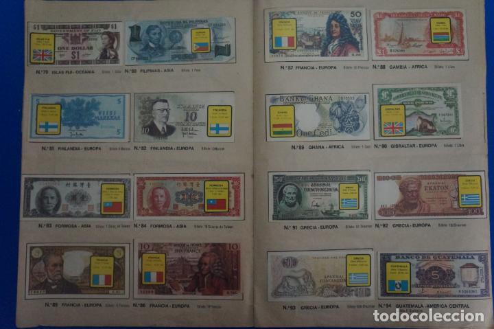 Coleccionismo Álbum: ALBUM COMPLETO DE BILLETES DEL MUNDO AÑO 1974 DE ESTE - Foto 7 - 135678115