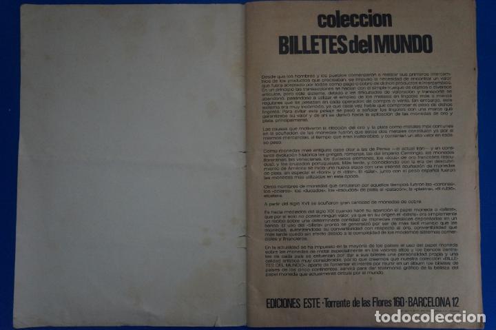 Coleccionismo Álbum: ALBUM COMPLETO DE BILLETES DEL MUNDO AÑO 1974 DE ESTE - Foto 15 - 135678115