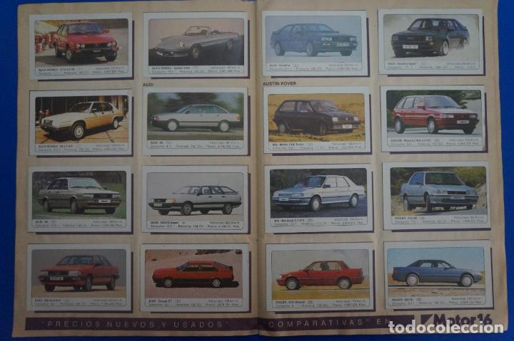 Coleccionismo Álbum: ALBUM COMPLETO DE COCHES AÑO 1986 DE EDICIONES UNIDAS - Foto 2 - 135678675