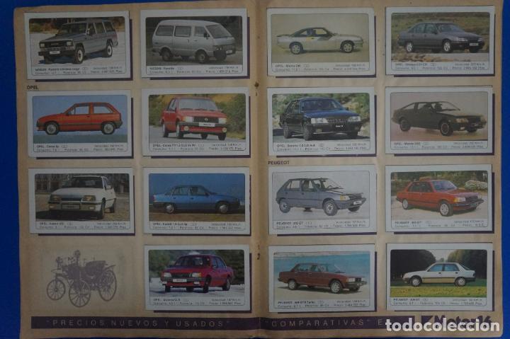 Coleccionismo Álbum: ALBUM COMPLETO DE COCHES AÑO 1986 DE EDICIONES UNIDAS - Foto 6 - 135678675