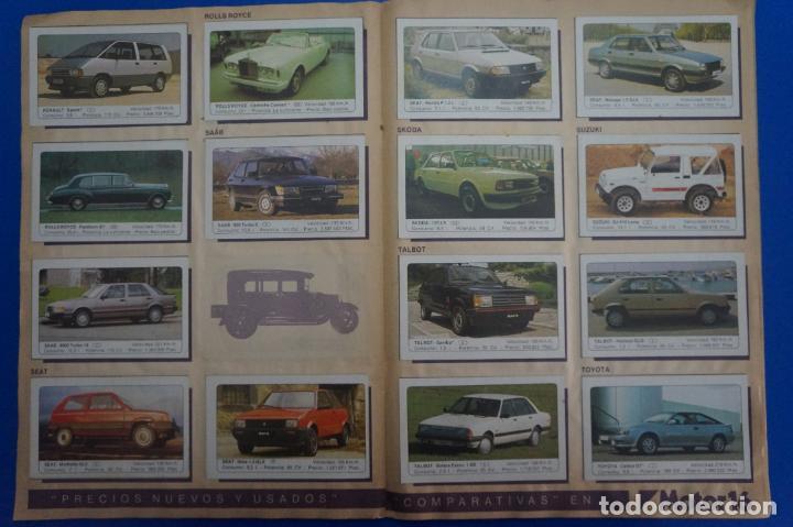 Coleccionismo Álbum: ALBUM COMPLETO DE COCHES AÑO 1986 DE EDICIONES UNIDAS - Foto 7 - 135678675