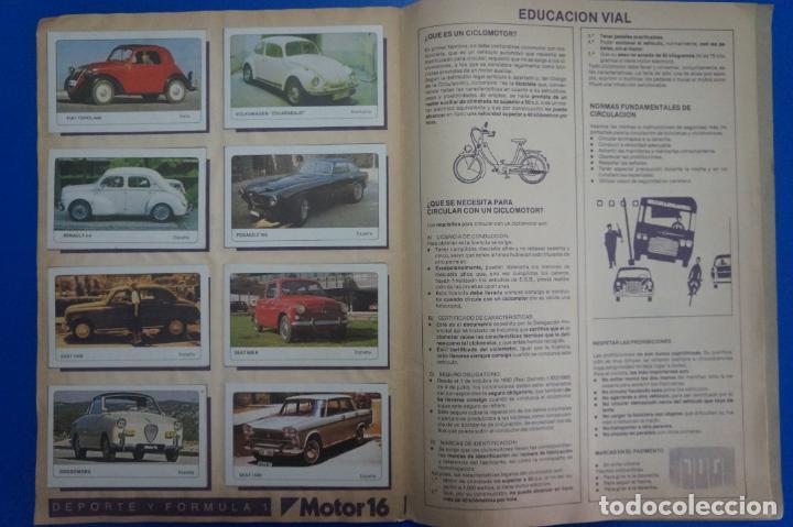 Coleccionismo Álbum: ALBUM COMPLETO DE COCHES AÑO 1986 DE EDICIONES UNIDAS - Foto 8 - 135678675