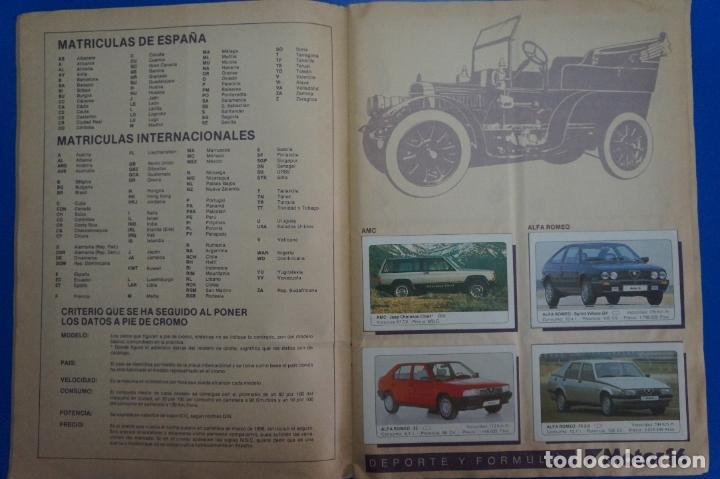 Coleccionismo Álbum: ALBUM COMPLETO DE COCHES AÑO 1986 DE EDICIONES UNIDAS - Foto 11 - 135678675
