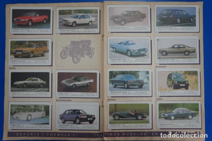 Coleccionismo Álbum: ALBUM COMPLETO DE COCHES AÑO 1986 DE EDICIONES UNIDAS - Foto 12 - 135678675