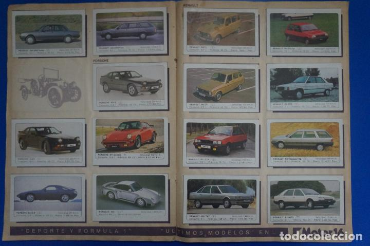 Coleccionismo Álbum: ALBUM COMPLETO DE COCHES AÑO 1986 DE EDICIONES UNIDAS - Foto 13 - 135678675