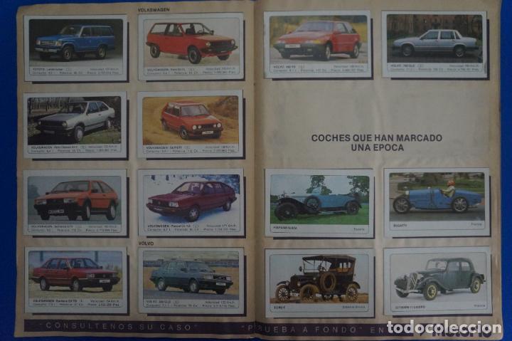 Coleccionismo Álbum: ALBUM COMPLETO DE COCHES AÑO 1986 DE EDICIONES UNIDAS - Foto 14 - 135678675