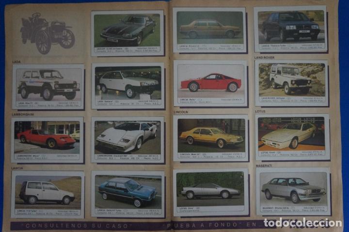 Coleccionismo Álbum: ALBUM COMPLETO DE COCHES AÑO 1986 DE EDICIONES UNIDAS - Foto 15 - 135678675
