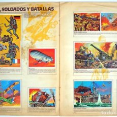 Coleccionismo Álbum: ALBUM 1980 TECNICA Y ACCION ESTE. ARMAS SOLDADOS BATALLAS TRANSPORTE VELOCIDAD TECNICA INVENTOS. Lote 135736859
