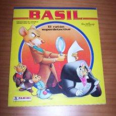Coleccionismo Álbum: BASIL. EL RATÓN SUPERDETECTIVE - AÑO 1986 - MUY BUEN ESTADO. Lote 135771986