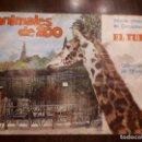 Coleccionismo Álbum: ALBUM CROMOS ANIMALES ZOO. CERVEZA EL TURIA. VALENCIA. COMPLETO. ORIGINAL DE 1968. Lote 136085646