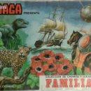Coleccionismo Álbum: ALBUM MAGA COLECCION DE CROMOS Y JUEGOS DE FAMILIAS. Lote 136211576