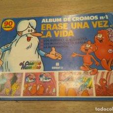 Coleccionismo Álbum: ERASE UNA VEZ... LA VIDA Nº1. 1989 ALBUM COMPLETO MULTILIBRO SA. Lote 136552998