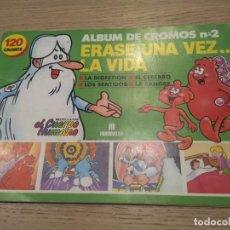 Coleccionismo Álbum: ERASE UNA VEZ... LA VIDA Nº2. 1990. 118 CROMOS, LE FALTAN 2. MULTILIBRO SA. Lote 136555294