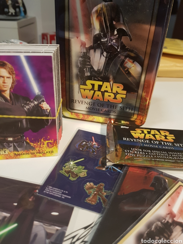 Topps Star Wars Usa The Revenge Of The Sith Co Sold Through Direct Sale 137133589
