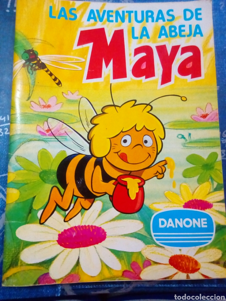 Álbum completo de la abeja maya segunda mano