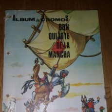 Coleccionismo Álbum: ALBUM DON QUIJOTE DE LA MANCHA, PIPAS PÉREZ EGEA ,CIEZA, MURCIA. Lote 137394470