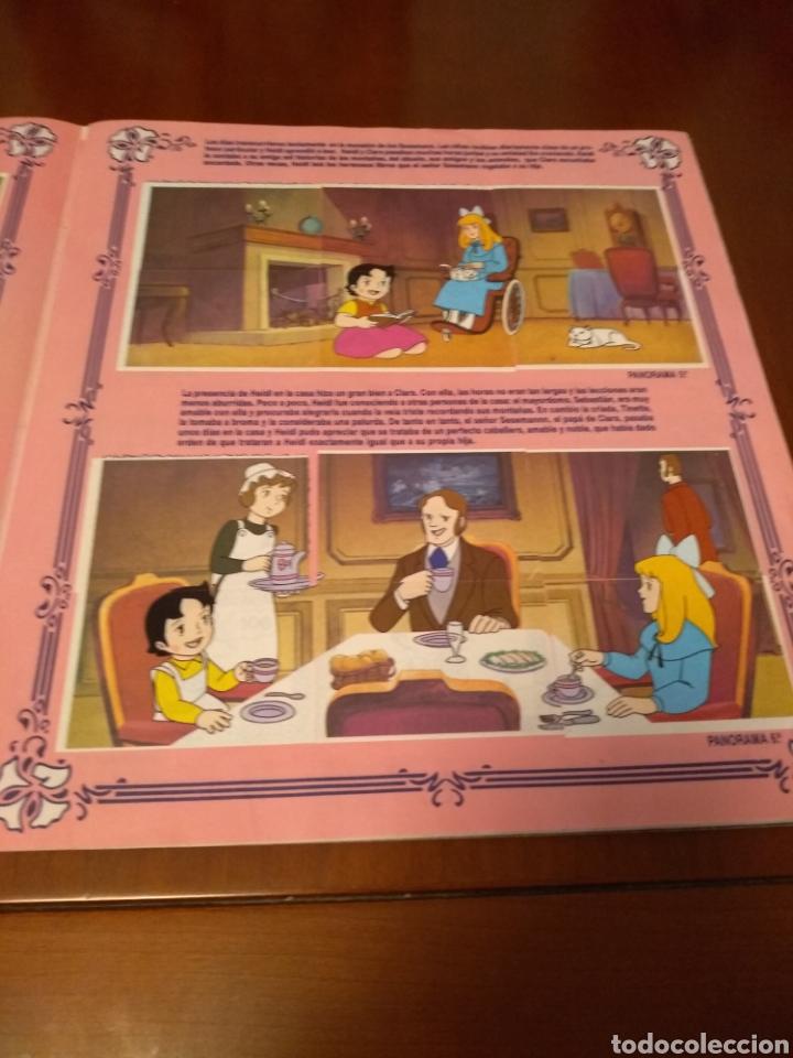 Coleccionismo Álbum: Album completo HEIDI (adhesivos)ediciones esté año 1987 - Foto 6 - 137801380
