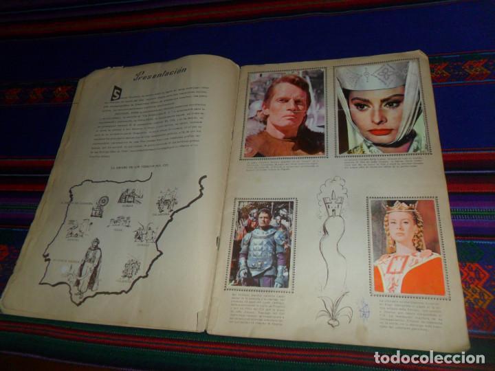 Coleccionismo Álbum: EL CID COMPLETO. FHER 1962. CHARLTON HESTON Y SOFIA LOREN. - Foto 2 - 138000870
