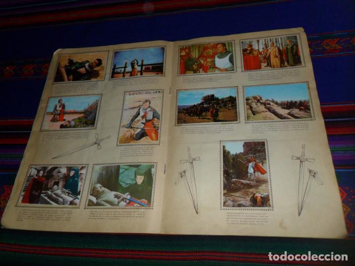 Coleccionismo Álbum: EL CID COMPLETO. FHER 1962. CHARLTON HESTON Y SOFIA LOREN. - Foto 3 - 138000870