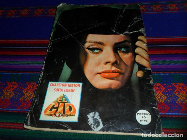 Coleccionismo Álbum: EL CID COMPLETO. FHER 1962. CHARLTON HESTON Y SOFIA LOREN. - Foto 4 - 138000870