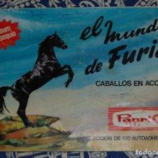 Coleccionismo Álbum: ALBUM DE CROMOS EL MUNDO DE FURIA CABALLOS EN ACCIÓN DE PANRICO // COMPLETO. Lote 138653190