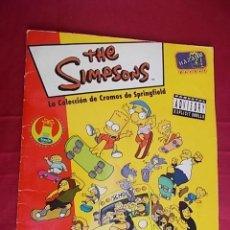 Coleccionismo Álbum: ALBUM DE CROMOS COMPLETO. THE SIMPSONS. LA COLECCION DE CROMOS DE SPRINGFIELD. PANINI. Lote 138689822