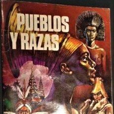 Coleccionismo Álbum: PUEBLOS Y RAZAS. Lote 138805498