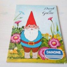 Coleccionismo Álbum: ALBUM COMPLETO DAVID EL GNOMO DANONE. Lote 138827542