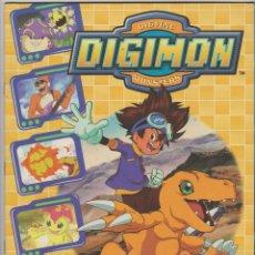 Coleccionismo Álbum: DIGIMON -- DIGITAL MONSTERS. Lote 138843818