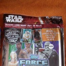 Coleccionismo Álbum: ÁLBUM COMPLETO STAR WARS FORCE ATTAX (THE FORCE AWAKENS). Lote 138937134