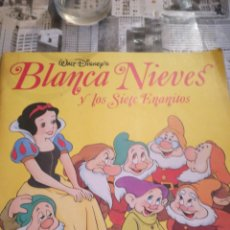 Coleccionismo Álbum: ALBUM BLANCANIEVES PANINI. COMPLETO. Lote 138958713
