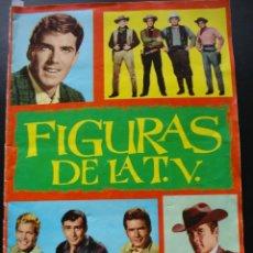 Coleccionismo Álbum: FIGURAS DE LA TV FHER 1965 COMPLETO. Lote 139053838