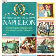 Coleccionismo Álbum: LIBRO DE ORO DE ESTAMPAS NAPOLEON. Lote 139193094