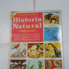Coleccionismo Álbum: UN LIBRO DE ORO DE ESTAMPAS Nº 42 HISTORIA NATURAL ÁLBUM COMPLETO. EDITORIAL NOVARO. TDKC38. Lote 139256874