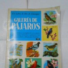 Coleccionismo Álbum: UN LIBRO DE ORO DE ESTAMPAS Nº 42 HISTORIA NATURAL ÁLBUM COMPLETO. TDKC38. Lote 139257398