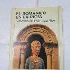 Coleccionismo Álbum: EL ROMANICO EN LA RIOJA. COLECCION DE 150 FOTOGRAFIAS. ALBUM COMPLETO. TDKC38. Lote 139259082