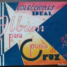 Coleccionismo Álbum: ALBUM PARA PUNTO DE CRUZ SERIE G Nº2 COLECCIONES IDEAL. Lote 139270330