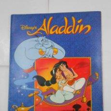 Coleccionismo Álbum: ALBUM DE CROMOS. WALT DISNEY ALADDIN. PANINI. COMPLETO. TDKC38. Lote 139270582