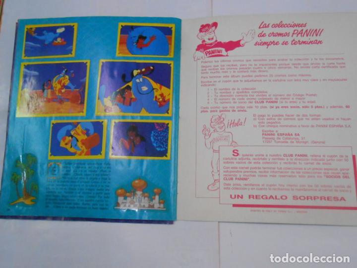 Coleccionismo Álbum: ALBUM DE CROMOS. WALT DISNEY ALADDIN. PANINI. COMPLETO. TDKC19 - Foto 3 - 139270582