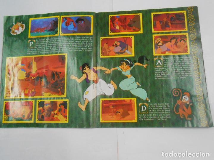 Coleccionismo Álbum: ALBUM DE CROMOS. WALT DISNEY ALADDIN. PANINI. COMPLETO. TDKC19 - Foto 15 - 139270582