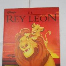 Coleccionismo Álbum: ALBUM DE CROMOS EL REY LEON. DISNEY. PANINI. COMPLETO. TDKC38. Lote 139271262
