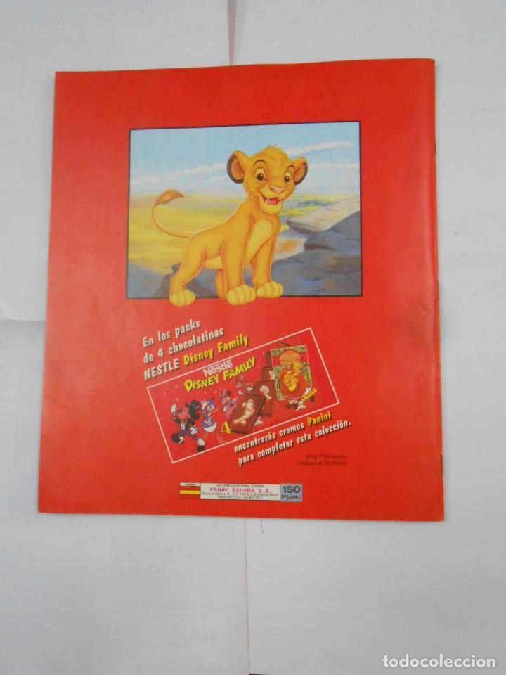 Coleccionismo Álbum: ALBUM DE CROMOS EL REY LEON. DISNEY. PANINI. COMPLETO. TDKC38 - Foto 2 - 139271262