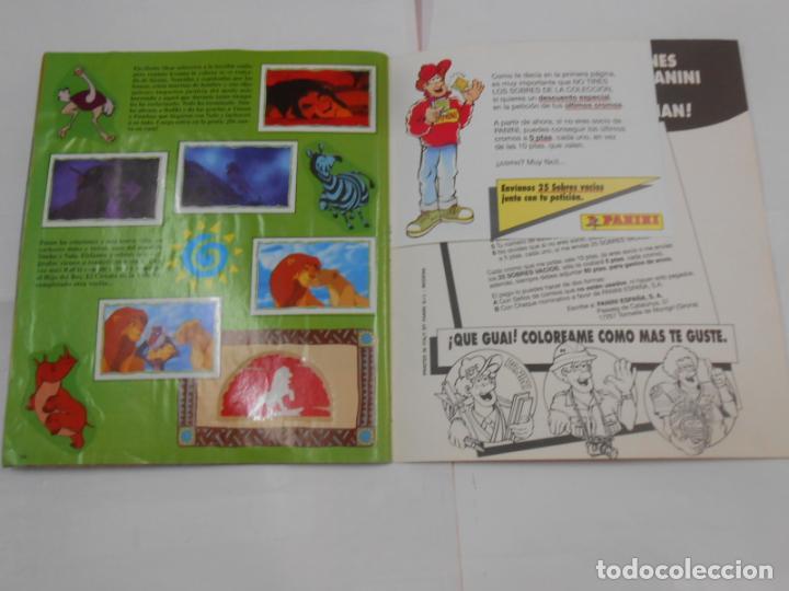 Coleccionismo Álbum: ALBUM DE CROMOS EL REY LEON. DISNEY. PANINI. COMPLETO. TDKC38 - Foto 3 - 139271262