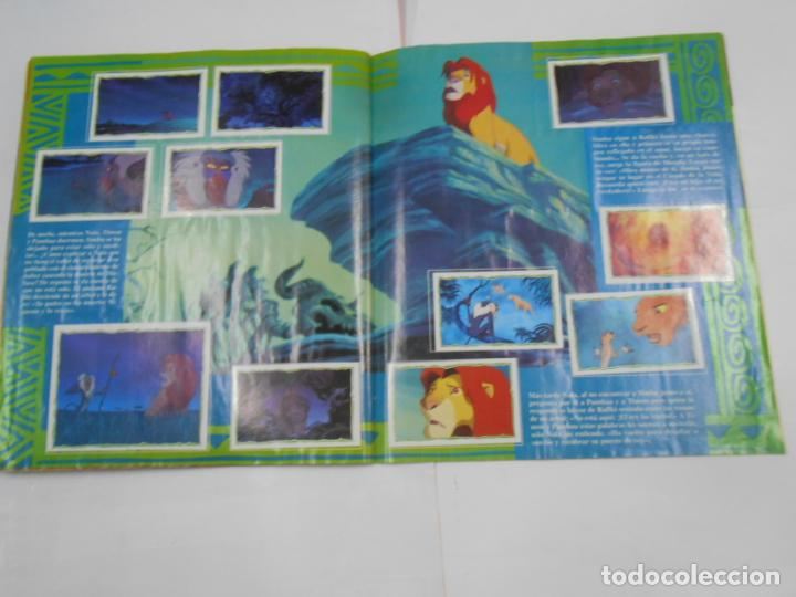 Coleccionismo Álbum: ALBUM DE CROMOS EL REY LEON. DISNEY. PANINI. COMPLETO. TDKC38 - Foto 5 - 139271262