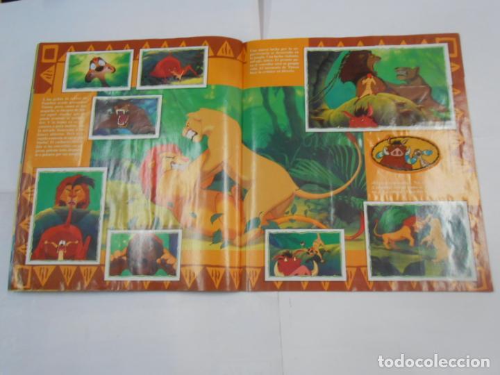 Coleccionismo Álbum: ALBUM DE CROMOS EL REY LEON. DISNEY. PANINI. COMPLETO. TDKC38 - Foto 7 - 139271262