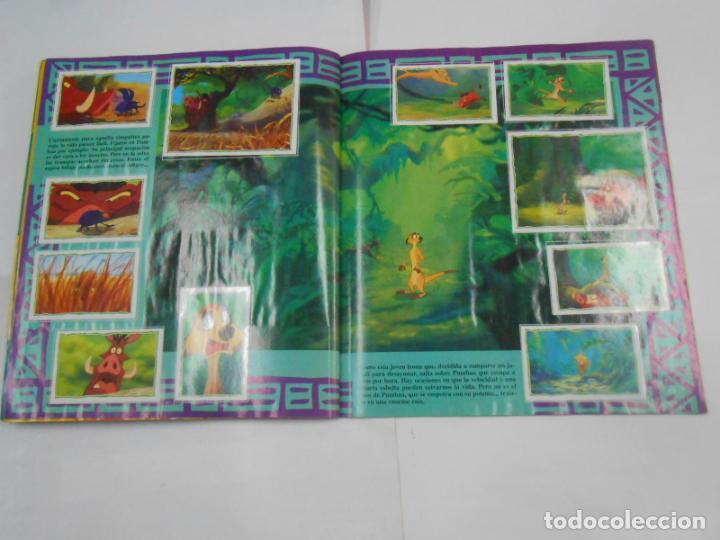Coleccionismo Álbum: ALBUM DE CROMOS EL REY LEON. DISNEY. PANINI. COMPLETO. TDKC38 - Foto 8 - 139271262
