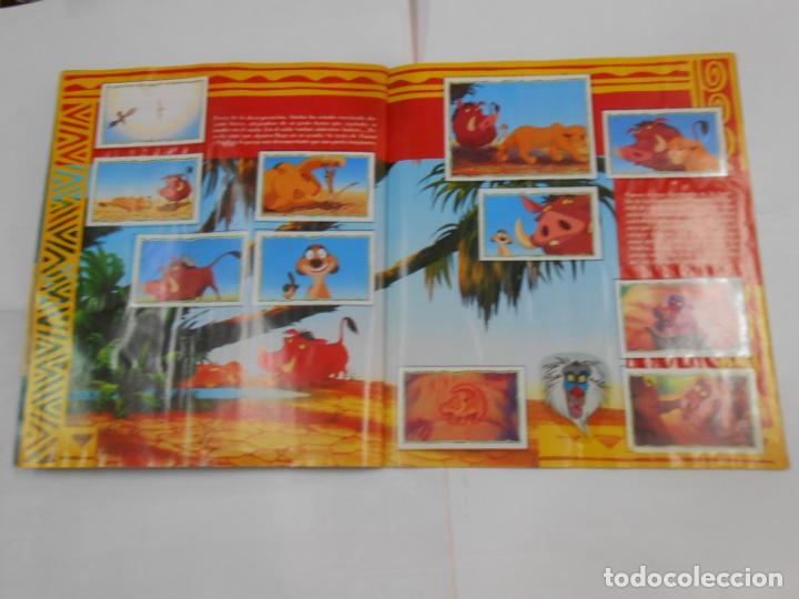 Coleccionismo Álbum: ALBUM DE CROMOS EL REY LEON. DISNEY. PANINI. COMPLETO. TDKC38 - Foto 9 - 139271262