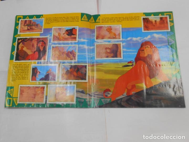 Coleccionismo Álbum: ALBUM DE CROMOS EL REY LEON. DISNEY. PANINI. COMPLETO. TDKC38 - Foto 11 - 139271262